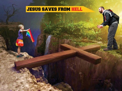 Jesus Saves From Hell